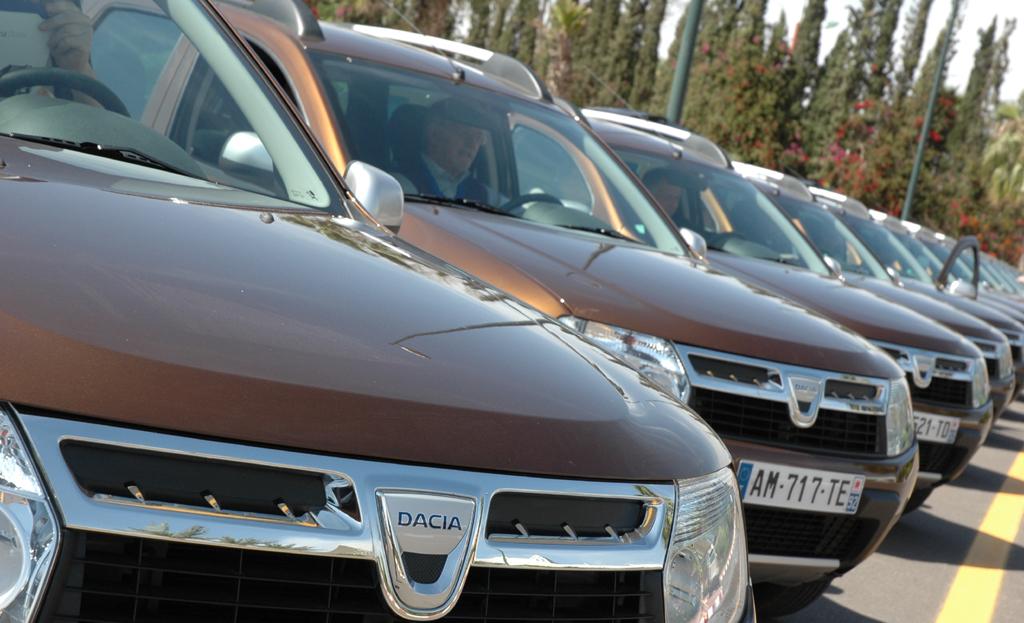 Dacia Duster: Nach Logan, Logan MCV, Sandero, Logan Express und Pickup ist er schon das sechste Modell von Renaults rumänischer Preiswert-Tochter.