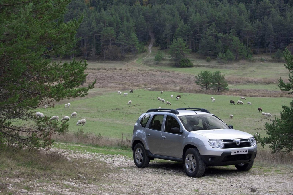 Dacia Duster: Robuster Kerl im Gelände.