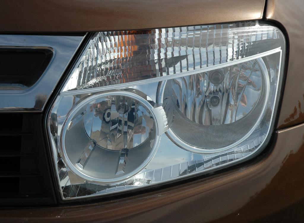 Dacia Duster: Vordere Leuchteinheit.