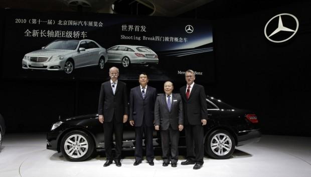 Daimler stellt auf der Expo Mobilität der Zukunft vor
