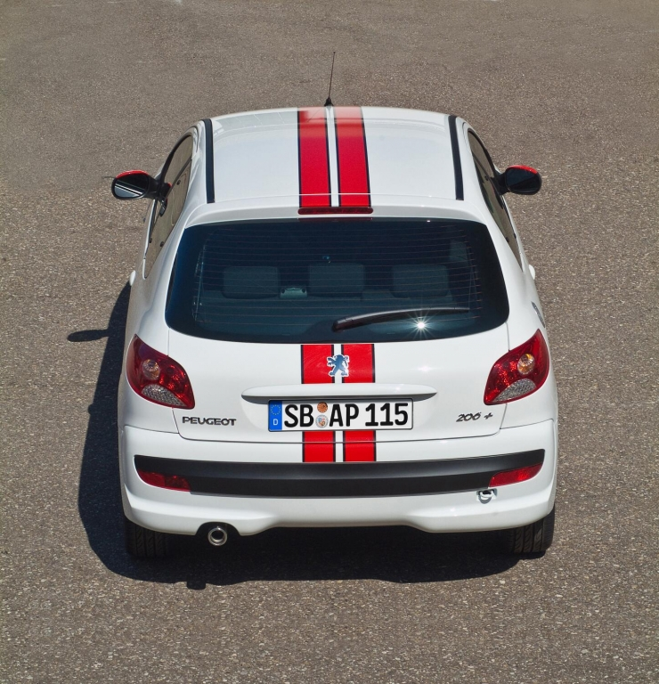 Der Peugeot 206+ gibt sich als