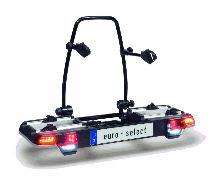 Der euro-select ist als weltweit erster Heckträger mit SMD-LED-Leuchten ausgerüstet.