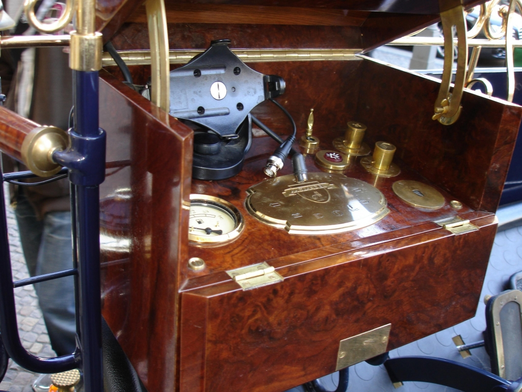 Ein Cockpit der anderen Art.