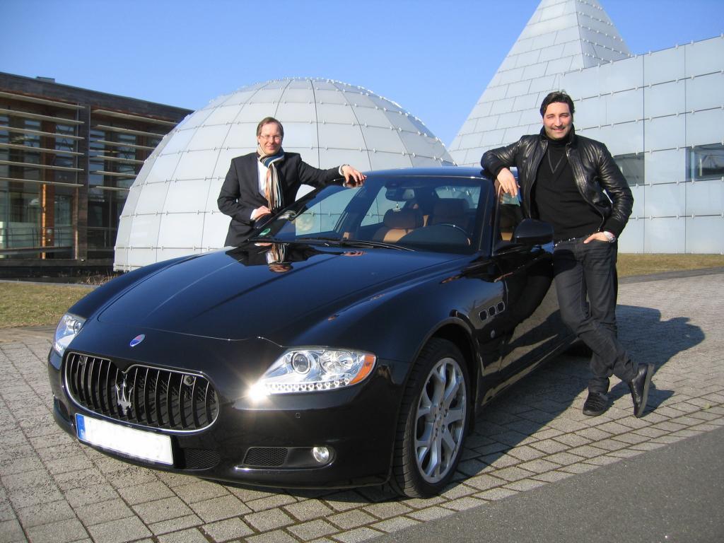 Ein Maserati für MOUSSE T.