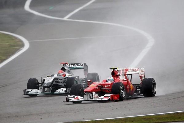 Ferrari holte in China 14 Punkte: Frühstart & Reifenprobleme