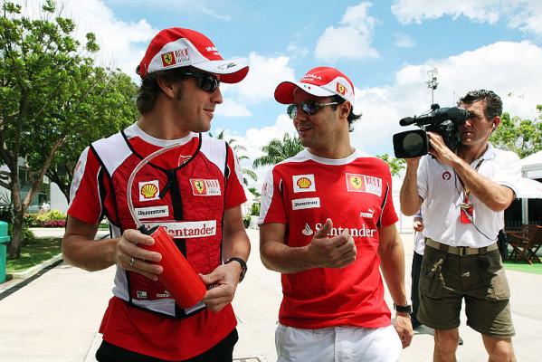 Ferrari über Massa-Alonso-Berichte nicht erfreut: An der Beziehung ändert sich nichts