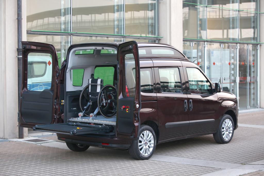 Fiat Doblò ab sofort mit Hochdach lieferbar