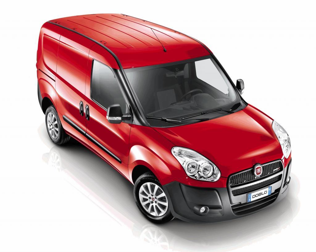 Fiat Doblo überzeugte in der Kategorie Lieferwagen.