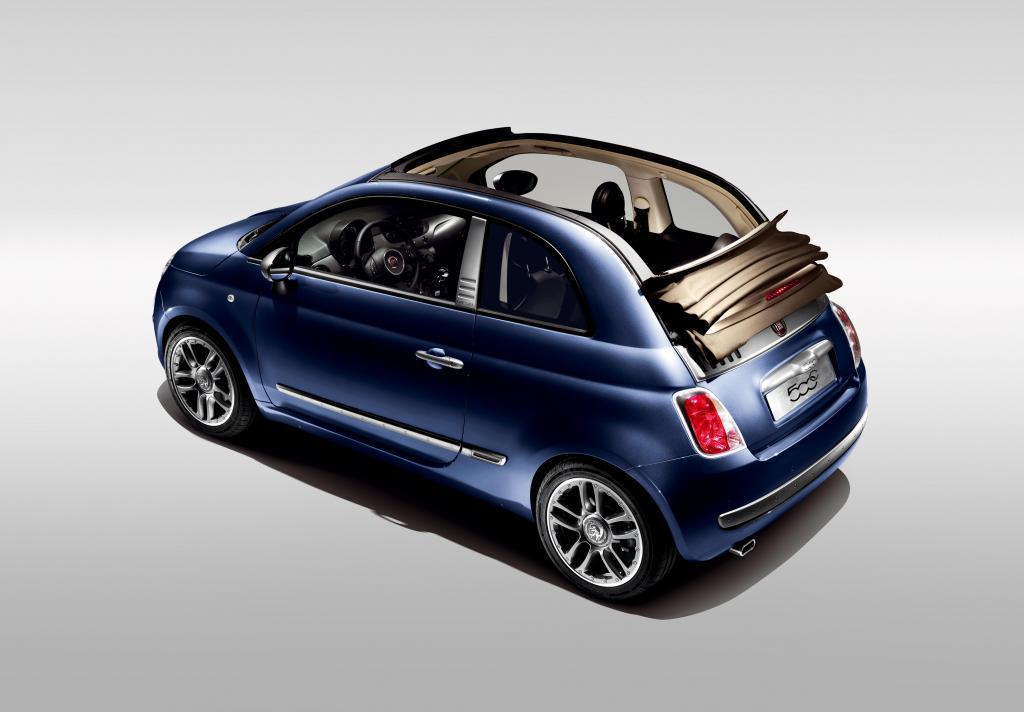 Fiat bringt auch den 500 C als Sondermodell by Diesel - Bild
