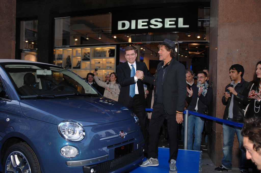 Fiat bringt auch den 500 C als Sondermodell by Diesel