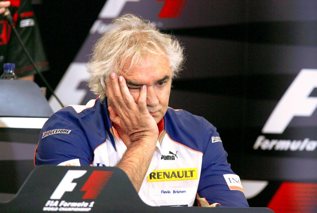 Flavio Briatore. 2009 kam für ihn das lebenslange Aus. Jetzt kann er wieder F1-Pläne schmieden.