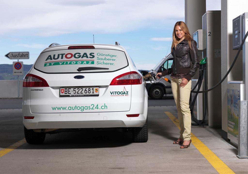 Ford bringt LPG-Fahrzeuge nun auch in die Schweiz