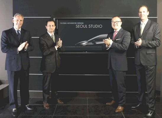 GM eröffnet Advanced Design Studio in Seoul
