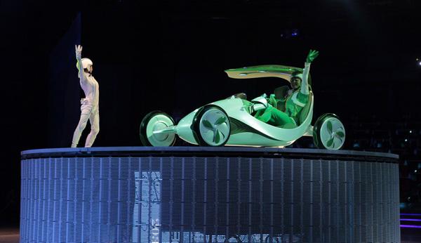 GM und SAIC fahren auf der Expo ins Jahr 2030