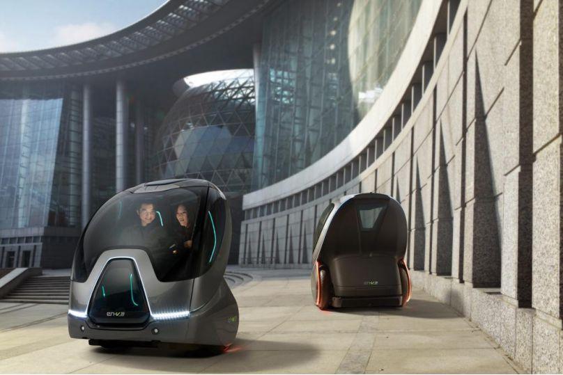 GMs Vision urbaner Mobilität: EN-V mit verändertem automobilem Genmaterial