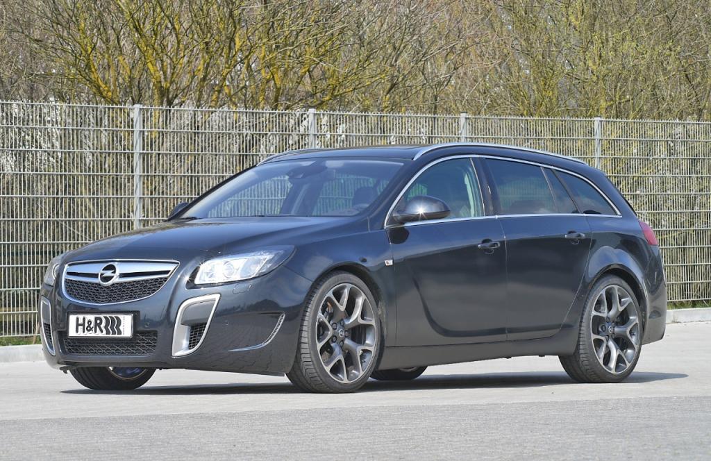H&R Opel Insignia OPC: Mehr Dynamik für den Power-Opel