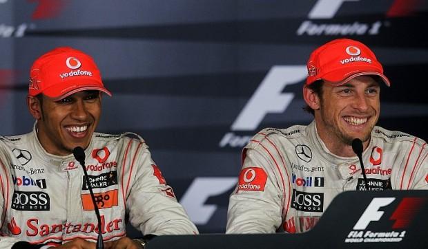 Hamilton und Button haben Spaß an Duell: Wir treiben uns an