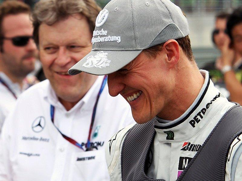 Haug steht hinter Schumacher: Michael kann siegen