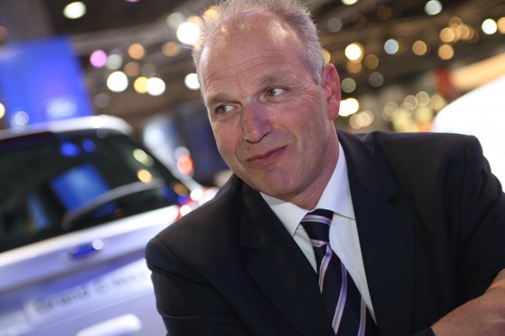 Jürgen Stackmann, Geschäftsführer Marketing und Verkauf der Ford-Werke GmbH.