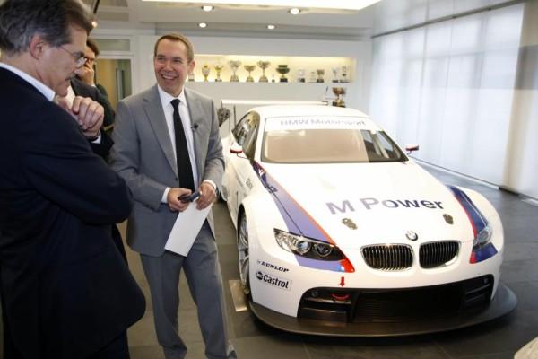 Jeff Koons' BMW M3 GT2 startet in Le Mans