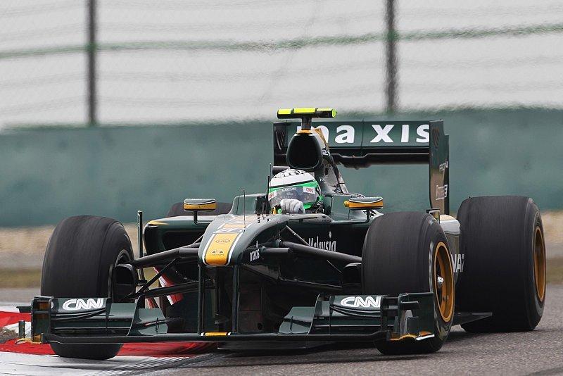 Kovalainen vor einem Williams: Lotus hatte Grund zum Feiern