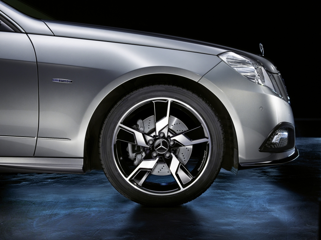 Leichtmetallräder von Mercedes-Benz: Bicolor ist besonders beliebt