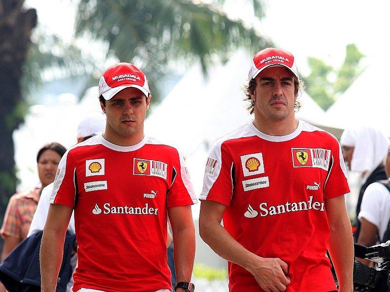 Massa und Alonso sehen keine Probleme: Die Situation ist so wie immer