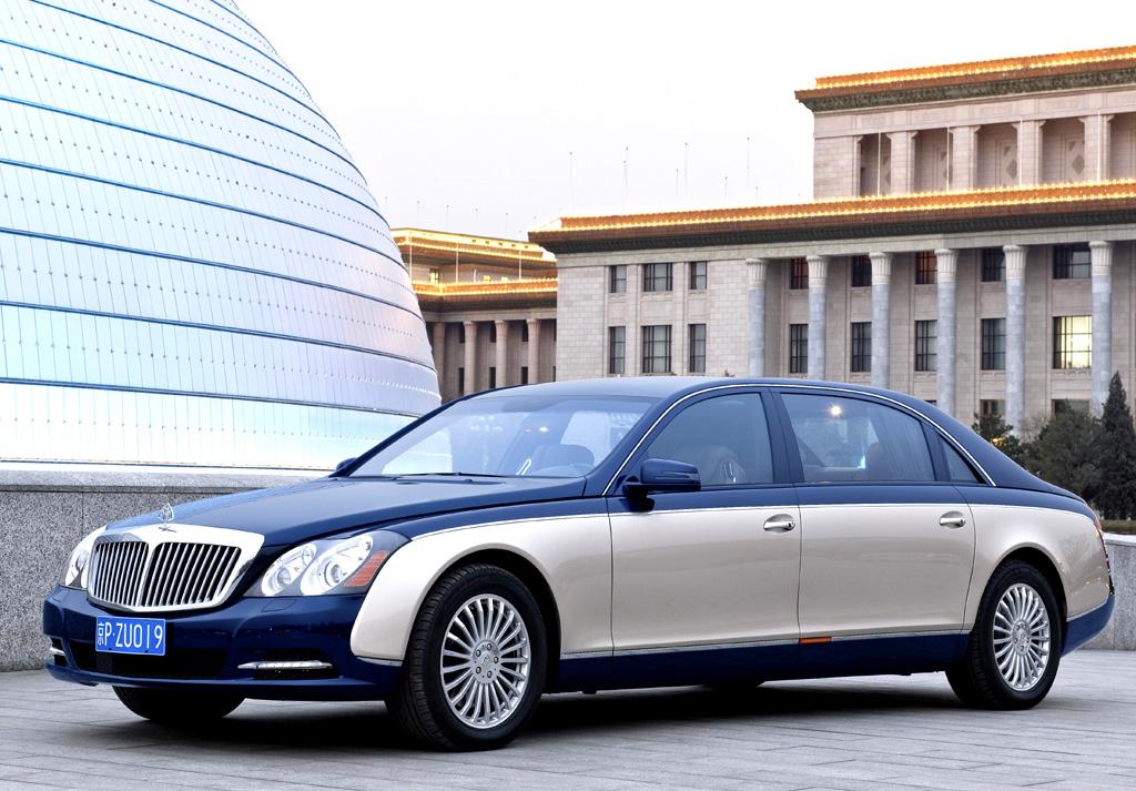 Maybach-Modellpflege: Bei Maybach handelt es sich um die Daimler-Luxusmarke.