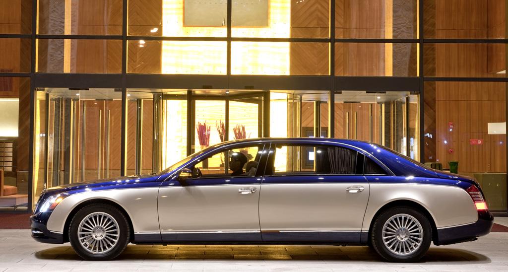 Maybach-Modellpflege: Die S-Modelle sind die längeren Versionen.
