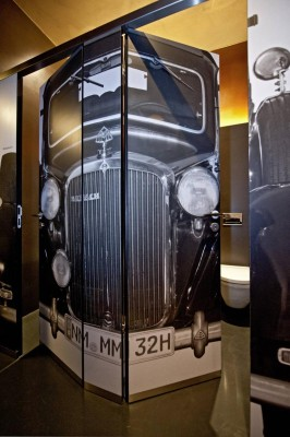 Maybach-Museum im historischen Rahmen