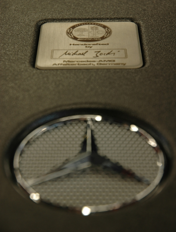 Mercedes-AMG: Handarbeit im Zeichen des Sterns.