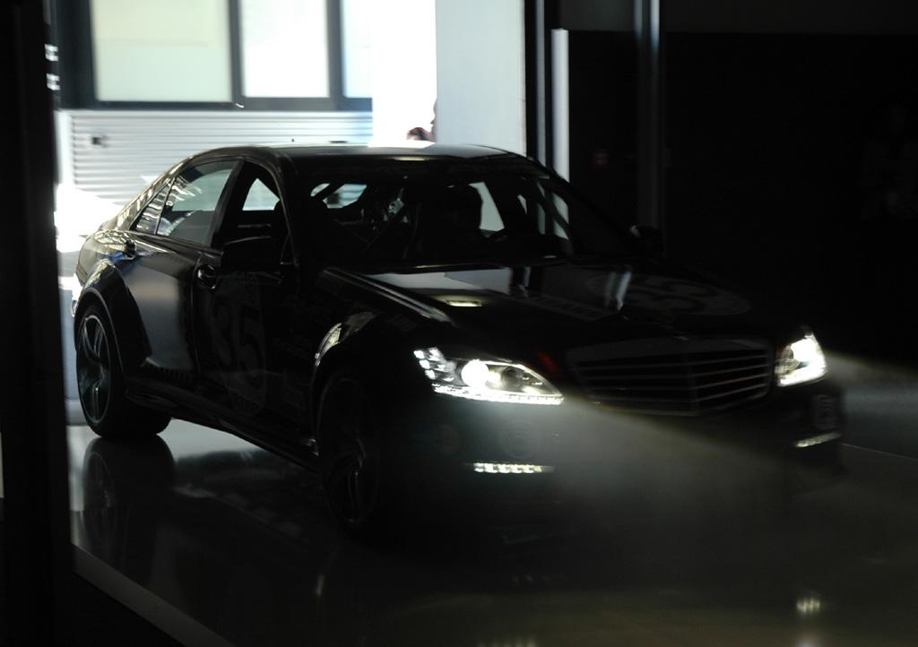 Mercedes-AMG: In der zweiten Jahreshälfte fährt der neue S63 AMG vor.