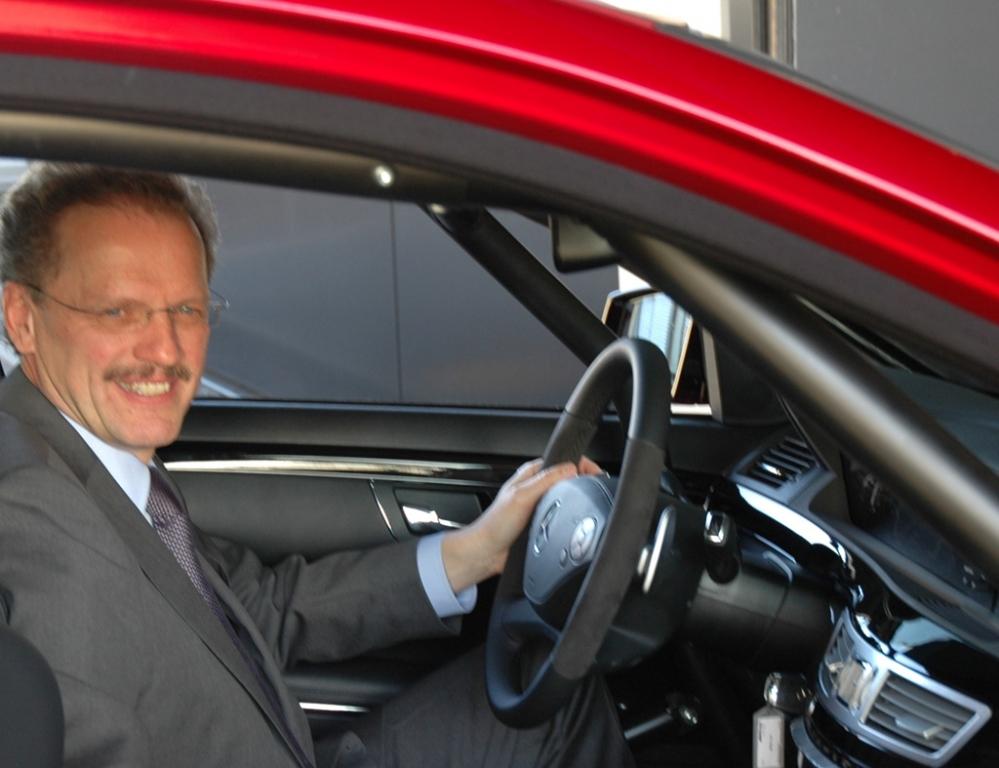 Mercedes-AMG: Volker Mornhinweg leitet künftig die Mercedes-Van-Sparte.
