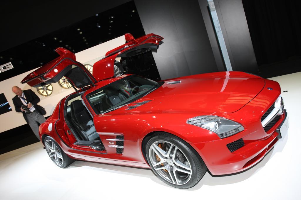 Mercedes-Benz SLS AMG.