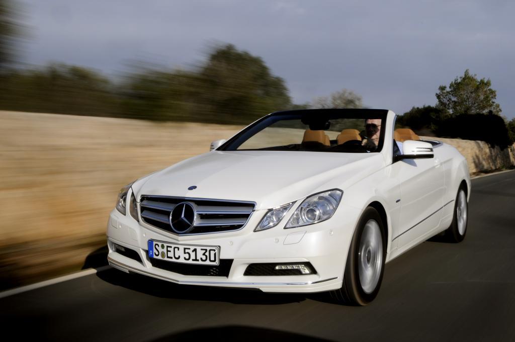 Mercedes-Benz bietet Leasing-Komplettpaket für E-Klasse Cabrio