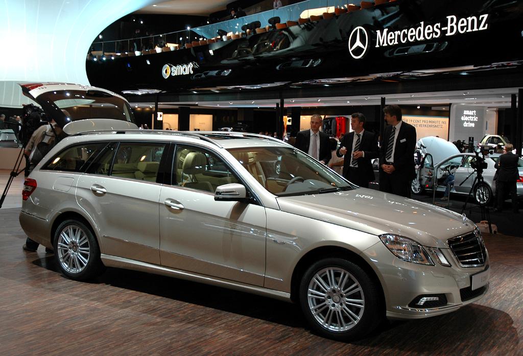 Mercedes E-Klasse: Hier der T-Modell genannte Kombi.