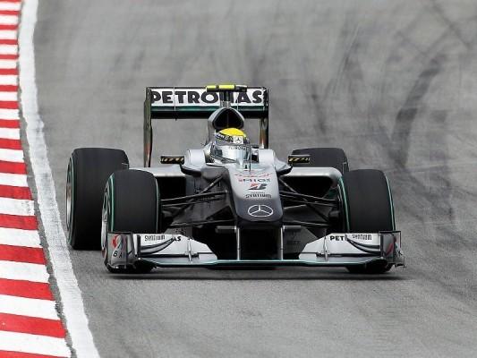 Mercedes GP: Größeres Update in Barcelona: MGP W01 komplett überarbeitet