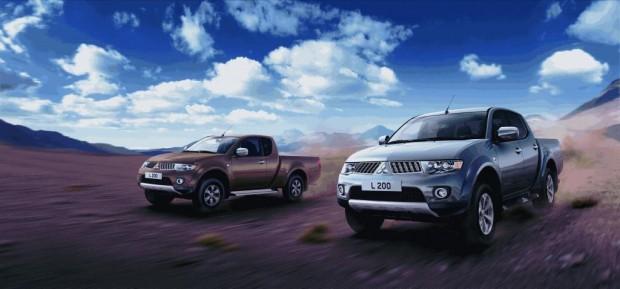 Mitsubishi L200 – ''Allrad Pick-up des Jahres 2010''