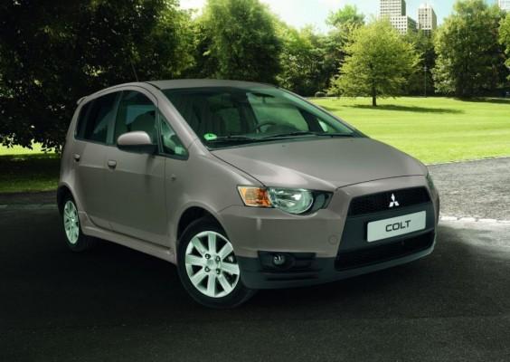 Mitsubishi bietet Colt als Sondermodell ''Motion