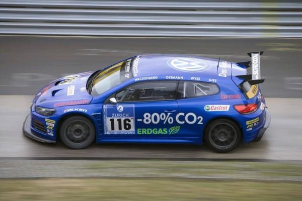 Nürburgring 24h-Rennen 2010: Volkswagen Scirocco GT24 mit Bioerdgas in die