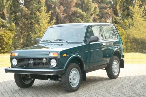 Neuer Lada Niva unter 9.500 Euro beim Händler