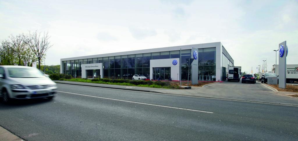 Neues Volkswagen-Zentrum in Mainz eröffnet