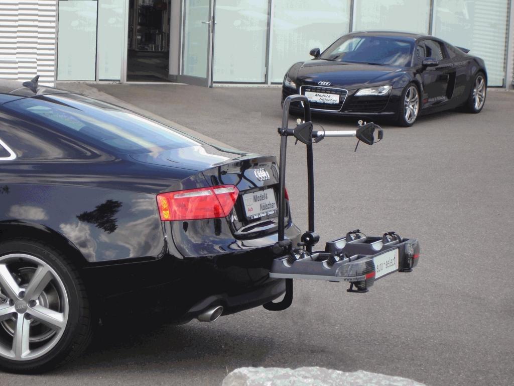 Neuestes Modell im mft-Programm ist der für zwei Räder geeignete und aus Aluminium gefertigte Heckträger euro-select.