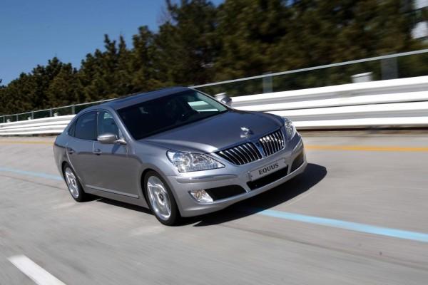 New York 2010: Hyundai zeigt sein Topmodell Equus