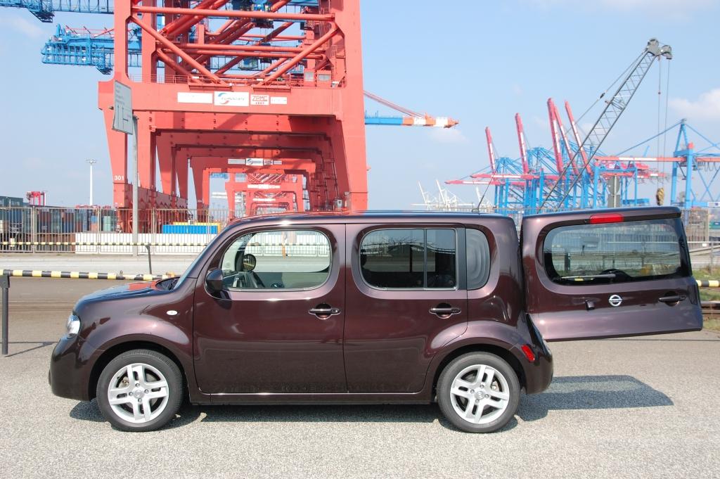 Nissan Cube - Die Quadratur eines Japaners