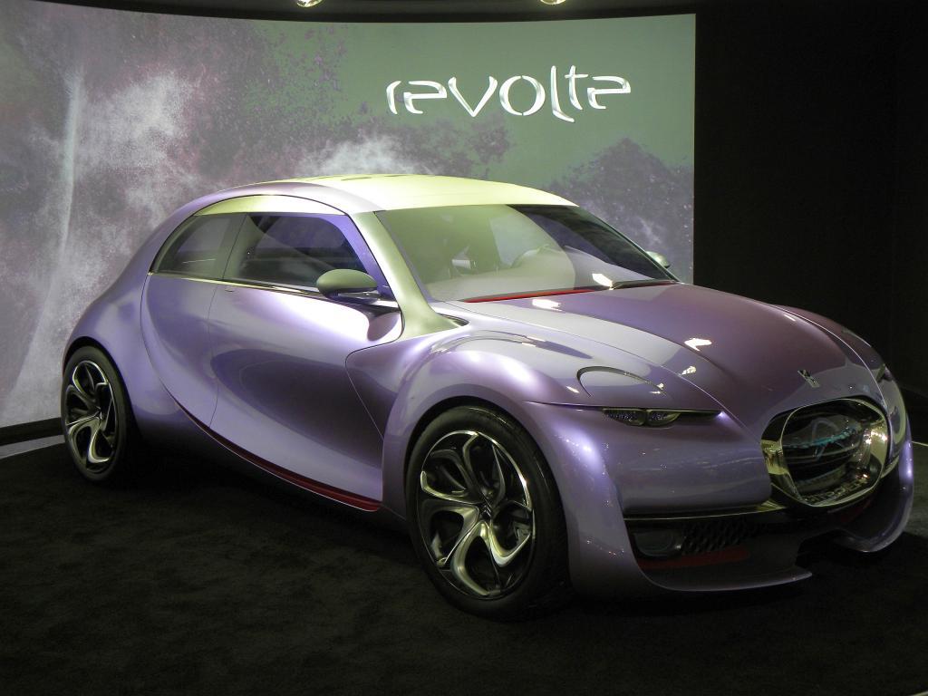Peking 2010: Citroën Revolte - Ente teilweise elektrisch