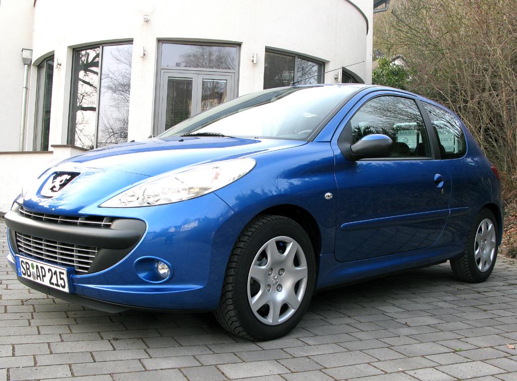 Peugeot 206+, hier als 68-PS-Turbodiesel.