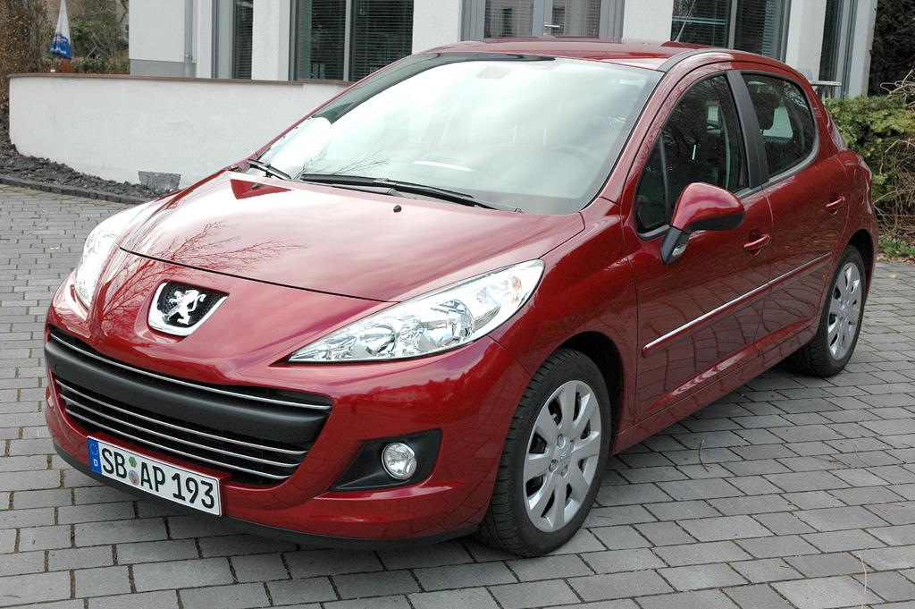 Peugeot 207, hier als 109-PS-Turbodiesel.