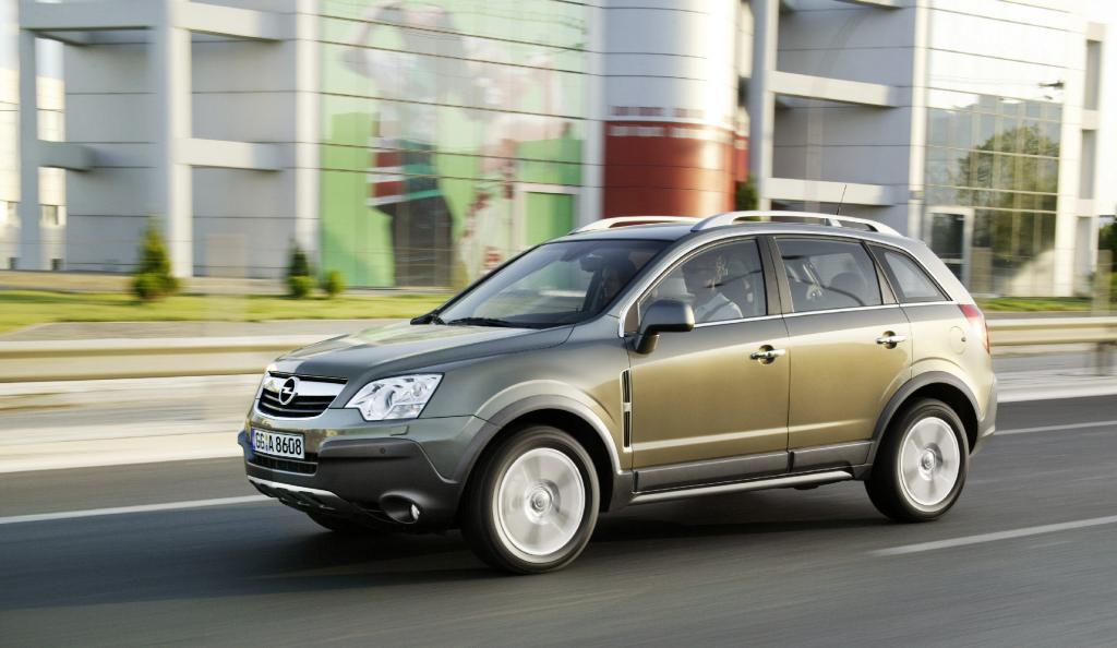 Rückruf für Opel Antara und Chevrolet Captiva