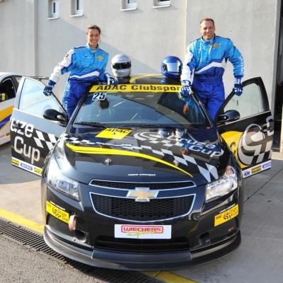 RTL-Stars fuhren beim ADAC-Cruze-Cup mit